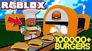 🔥 FABRYKA BURGERÓW *WSZYSTKO ODBLOKOWAŁEM* W ROBLOX (Burger Factory Tycoon) | YI ROBLOX