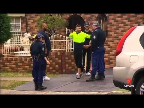 Counter-terrorism raids in Sydney NSW - Australia - October, 7, 2015