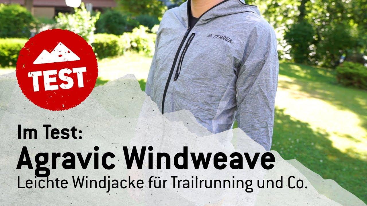 Im Bergfreunde Test: Die Agravic Windweave Jacket von adidas