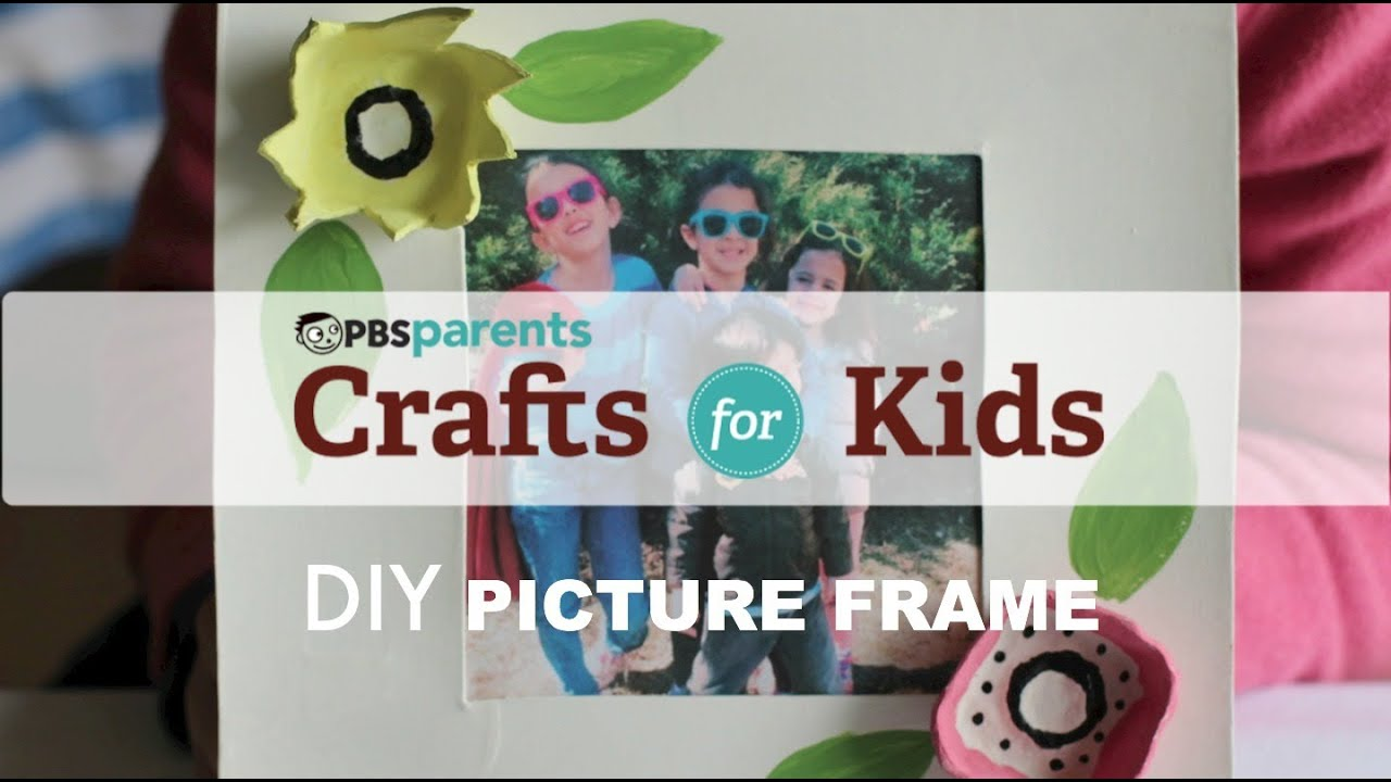 DIY Mother\'s Day Picture Frame | Crafts for Kids | PBS Parents - YouTube