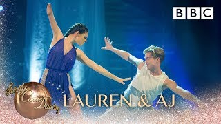 Lauren Steadman & AJ Pritchard dance to Runnin' (Lose It All) by Naughty Boy - BBC Strictly 2018