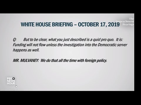 PBS NewsHour: WATCH: Withholding Ukraine aid isn't just 'crazy,' it's 'wrong,' Bill Taylor says
