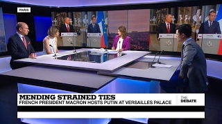 Mending Strained Ties: French President Macron hosts Putin at Versailles Palace (part 1)
