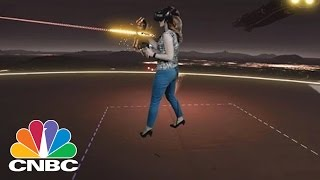 What Virtual Reality Really Feels Like   CNBC