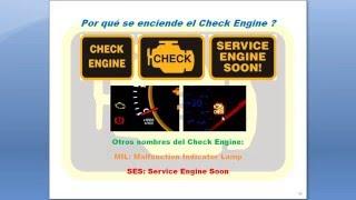 Por qué se enciende el Check Engine