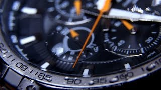 Classic Chronograph Wristwatch 0590   Stock Footage - Videohive