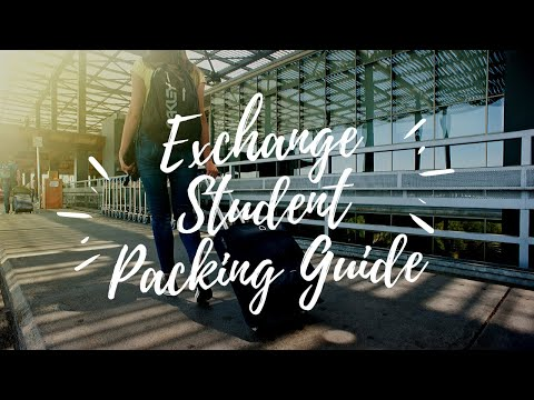 An Exchange Student's Guide to Packing