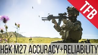 Magazines, Accuracy, Reliability and More with the USMC M27 IAR