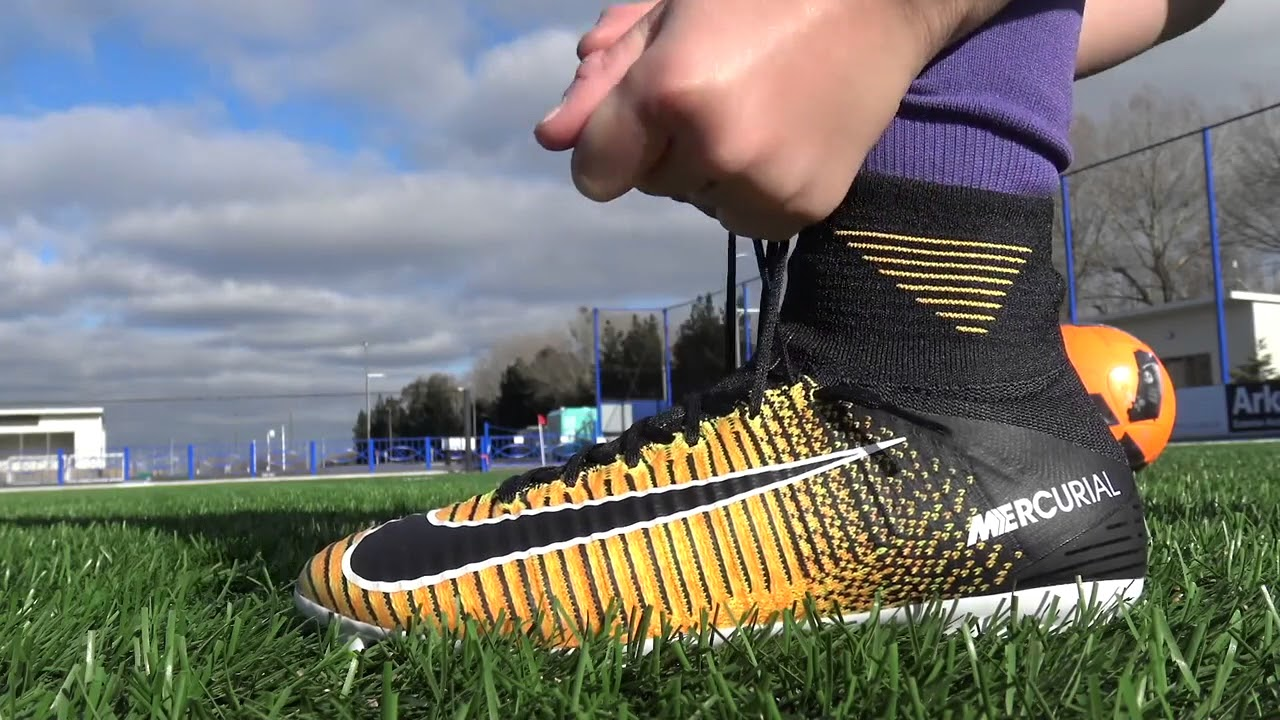 a31f8b5f36f1 KIDS SUPERFLY 5 REVIEW WITH FOOTBALL BOOTS! - YouTube