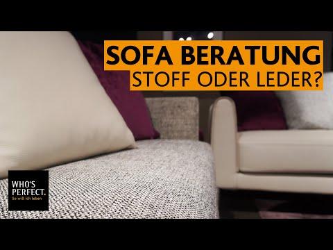 Sofa Beratung: Stoff oder Leder Polstermöbel? Was passt zu meinen Bedürfnissen? + Sofabeispiele