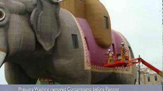 Case Study: Lucy The Elephant, Historic Restoration and Painting