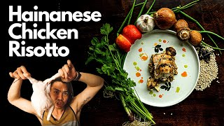How to make Hainanese Chicken Barley Risotto Terry Cooks