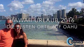 Hawaii Urlaub Video - Waikiki, North Shore Strände, Schildkröten, Haleiwa, Diamond Head