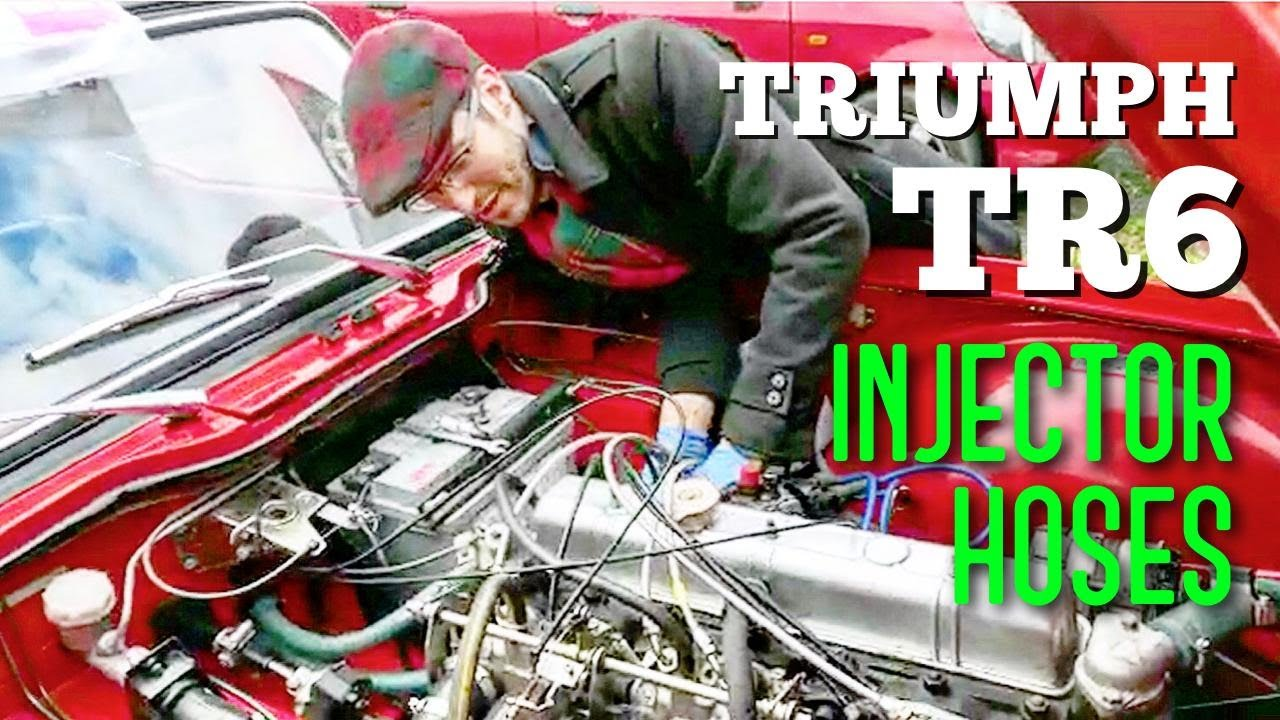 Triumph Tr6 Injector Hoses Replacement And Bleed Youtube