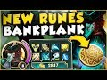 THE RICHEST GANGPLANK EVER! NEW MONEY MAKING BANKPLANK! GANGPLANK TOP GAMEPLAY! - League of Legends