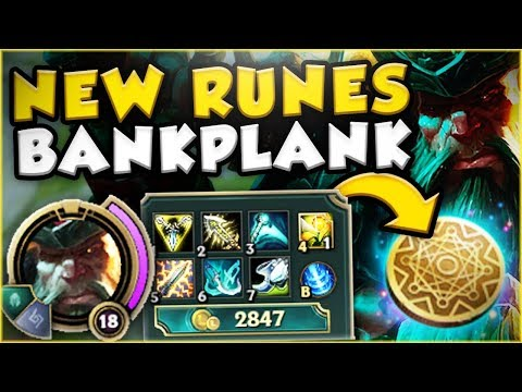 Download Youtube: THE RICHEST GANGPLANK EVER! NEW MONEY MAKING BANKPLANK! GANGPLANK TOP GAMEPLAY! - League of Legends