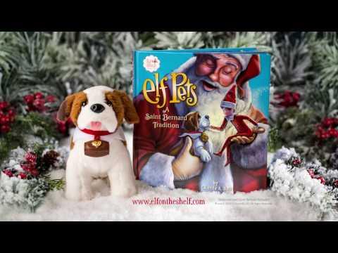 Elf Pets® Saint Bernard | The Elf on the Shelf
