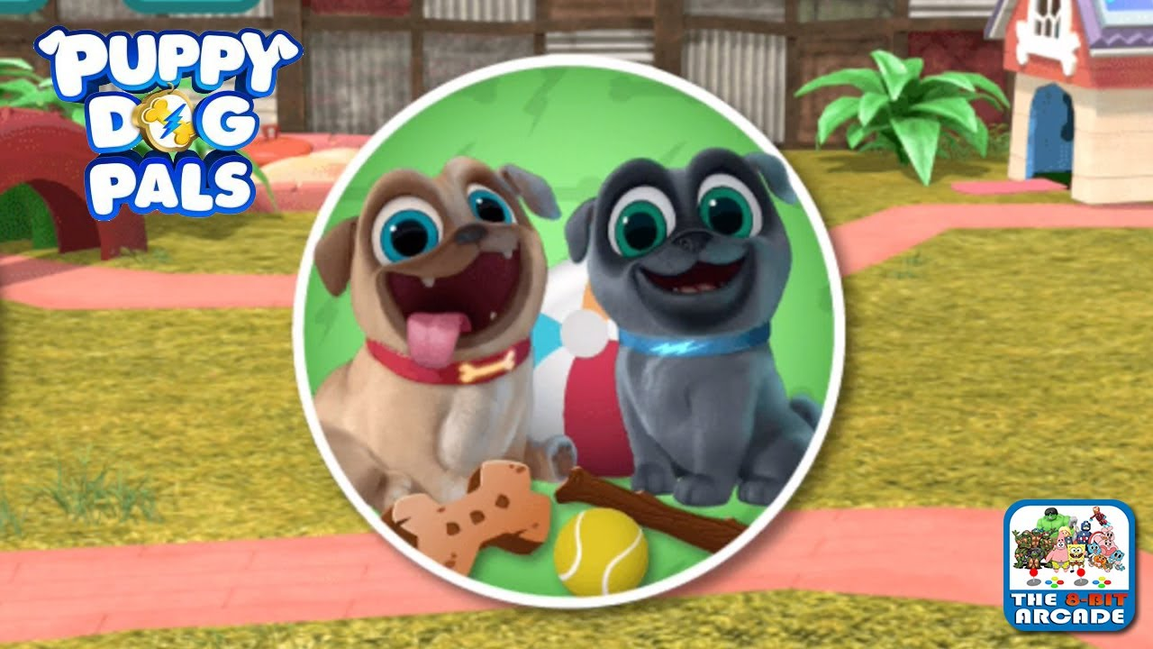 Puppy Dog Pals Pups On A Mission Backyard Shenanigans Disney Junior Games Youtube