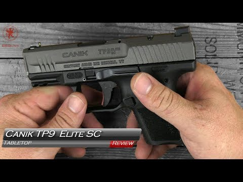 Canik TP9 Elite SC Tabletop Review and Field Strip