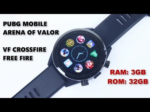 TEST - Play Games On Android SmartWatch | RAM 3GB, ROM 32GB
