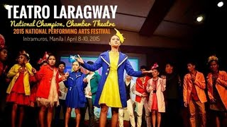 TEATRO LARAGWAY- CHAMPION, Chamber Theater, Fun Fiesta Pilipinas