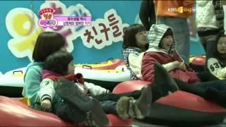 Hyomin Jiyeon playing together cut 1