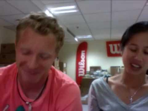 Dmitry Tursunov from Paris- Wilson Tennis- Live on Ustream