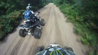 ATV Riding in Michigan 2010 (GoPro HERO HD) Yamaha YFZ450R (A Day To Remember)