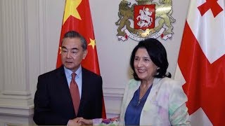 Georgian president pledges to work with China under BRI