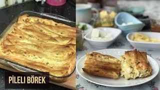 Pileli Börek Tarifi (Büzgülü Börek) - Naciye Kesici - Yemek Tarifleri