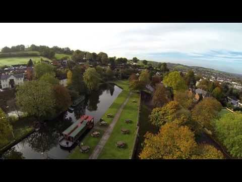 Tiverton Canal From The Air