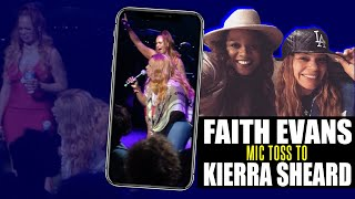 "Faith Evans ""Tears Of Joy"" reprise featuring Kierra Kiki Sheard Live in Detroit 2015"