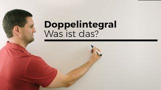 Doppelintegral, was ist das? Mehrdimensionale Analysis, Volumen berechnen, Mathe by Daniel Jung