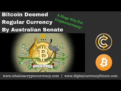 Buy Bitcoins Australia: Bitcoin Deemed Regular Currency In Australia