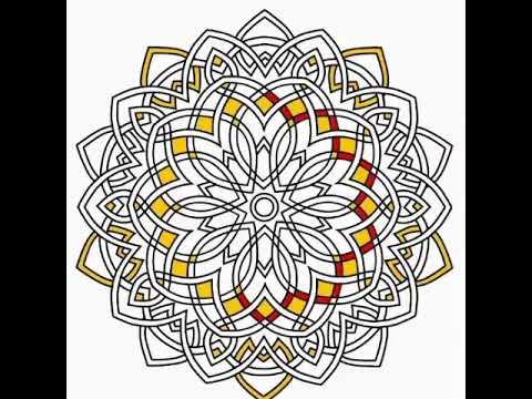 Mandala Boyama Mandala Game Happy Color Game Youtube