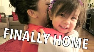 Finally Home- Dancember 17, 2014 ItsJudysLife Vlog