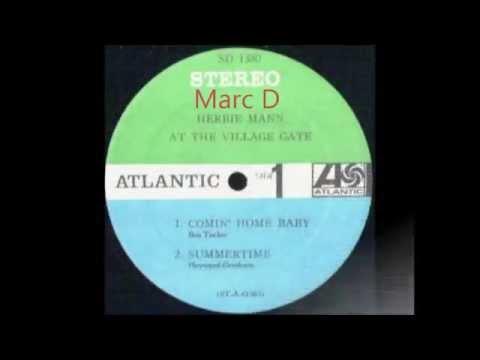 HERBIE MANN - COMIN' HOME BABY - LP VILLAGE GATE - ATLANTIC 1380