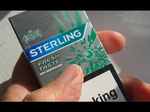Sterling Cigarette Review Youtube
