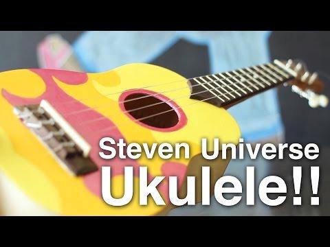 Replica DIY Steven Universe Ukulele!!