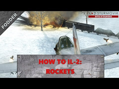 How to IL-2: Rockets