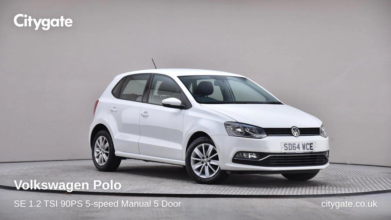 Volkswagen Polo - SE 1.2 TSI 90PS 5-speed Manual 5 Door - Citygate Volkswagen Chalfont - YouTube