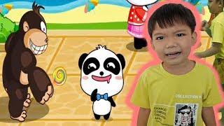 Kỹ năng cho bé tập 3 bé đi chơi bên ngoài cùng với mẹ game baby bus Kênh trẻ em - video cho bé yêu