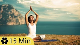 Meditation, relaxation music, chakra, relaxing music for stress relief, relax, 15 minute, ✿2455d