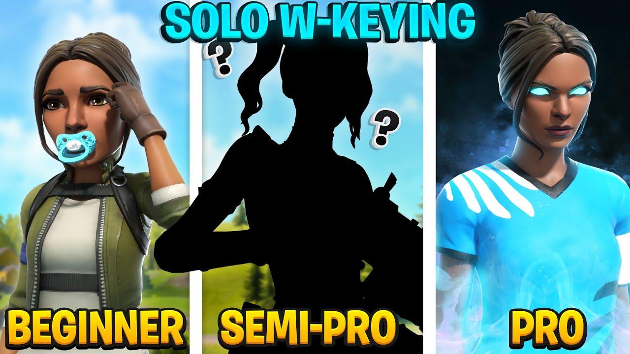 3 Levels of Solo W-Keying : Beginner Vs Semi-Pro Vs Pro (Tips & Tricks)