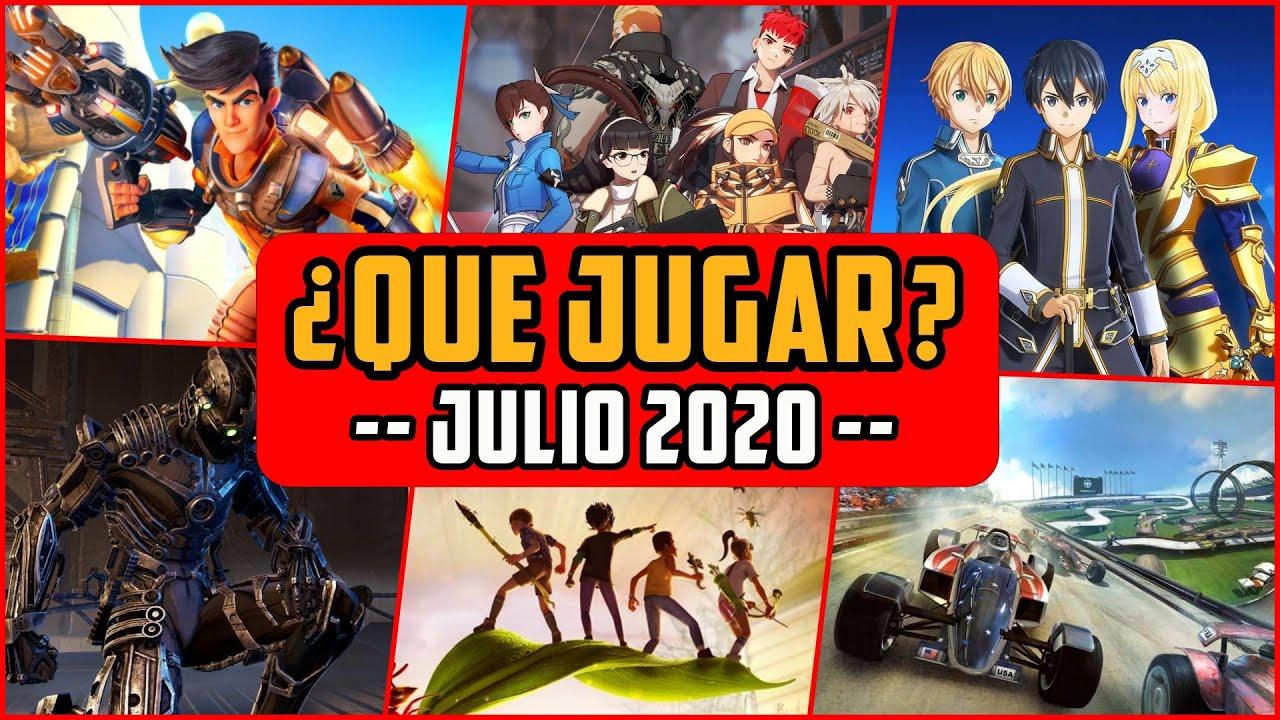 ¿QUÉ JUGAR? - Planes JULIO 2020 🔥 Lanzamientos nuevos  MMO, FPS, Co-Op