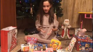 Обзор сладких новогодних подарков!