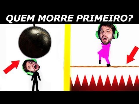 TESTE: QUEM MORRE PRIMEIRO? (quem errar e burro😂)