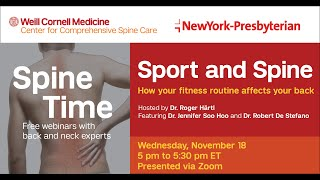 Spine Time - Sport and Spine