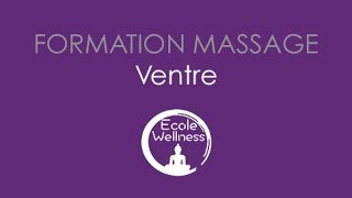 Formation massage du ventre par l'école du wellness