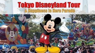 Tokyo Disneyland & Happiness Is Here Daytime Parade - English [4K]